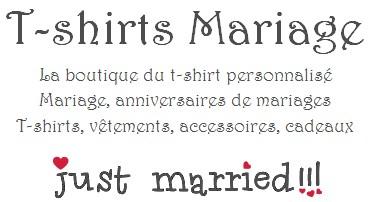 La Boutique Mariage T Shirt Mariage Personnalisé Cadeau